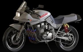 Picture style, motorcycle, Suzuki