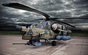 Wallpaper The spoiler, The Russian air force, Army, Aviation, Blades, Mi28n, Ми28, Attack helicopter, BBC, Helicopter, ...