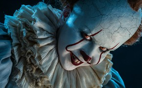 Picture clown, horror, cosplay, It, Pennywise