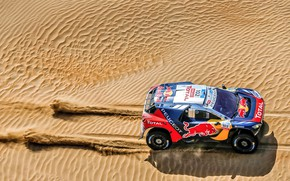 Picture Sand, Auto, 2008, Sport, Machine, Speed, Race, Top, Peugeot, Red Bull, Rally, SUV, Rally, Sport, …