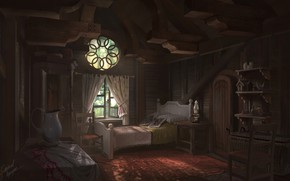 Picture room, Origins, furnished, ANNIE, League of Legends Cabin Interior