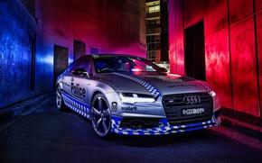 Picture Audi, Audi, police, Police, Sportback