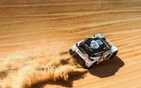 Wallpaper Sand, Sport, Speed, Race, Dirt, Peugeot, Lights, Red Bull, Rally, Dakar, Rally, Sport, Dune, DKR, ...