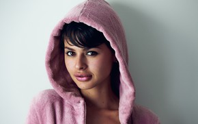 Picture face, model, hair, robe, Mariangela