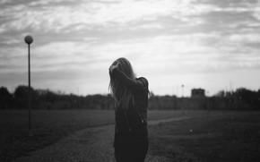 Picture model, photographer, monochrome, black and white, Pro photo