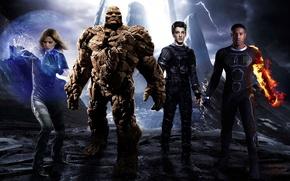 Picture cinema, movie, hero, film, Fantastic Four, yuusha, by sachso74