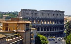 Picture Rome, Colosseum, Italy