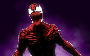Picture marvel comics, Spider-Man, carnage, symbiote, Cletus Kasady