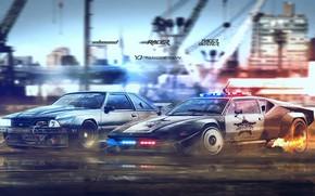 Picture Auto, Machine, Police, Ford, Ford Mustang, Art, De Tomaso, Pantera, De Tomaso Pantera, Yasid Design, …