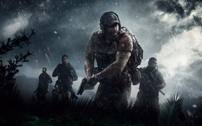 Wallpaper TheVideoGameGallery.com, Soldiers, Ubisoft, Tom Clancy's Ghost Recon Wildlands, Game