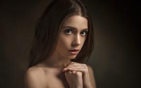 Picture portrait, Xenia, Kseniya Kokoreva, Vasiliy Zhukov
