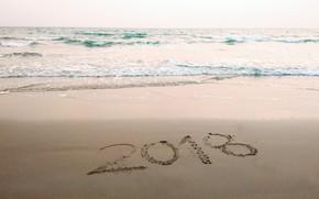 Picture sand, sea, wave, beach, summer, summer, beach, sea, blue, sand, 2018, wave