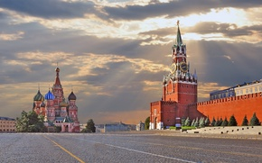 Picture Moscow, The Kremlin, Russia, Red square, Moscow, Kremlin