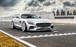 Picture Mercedes, supercar, Mercedes, AMG, C190, GT-Class