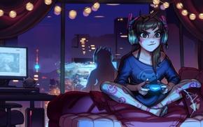 Picture Game, Blizzard Entertainment, Overwatch, D.Va, Hannah's Dream, Hanna Son
