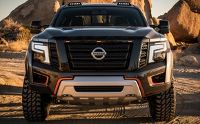 Wallpaper protector, Nissan Titan Warrior, SUV, Nissan