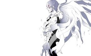 Picture angel, anime, art, guy, D.Gray-man
