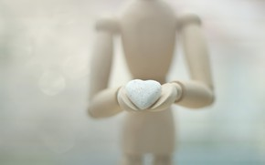 Picture background, heart, figure