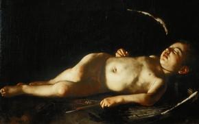 Picture picture, Caravaggio, Sleeping Cupid