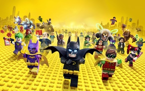 Wallpaper city, cinema, Wonder Woman, toy, Batman, yellow, movie, bat, Lego, Robin, hero, film, Two-Face, animated ...