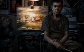 Picture picture, artist, brush, Dmitry Kirici