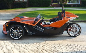 Picture beautiful, comfort, hi-tech, Polaris, Slingshot, technology, sporty, tricycle, 037