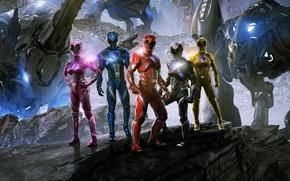 Picture Action, Fantasy, Power, the, Girls, EXCLUSIVE, Walt Disney Pictures, Movie, Rangers, Film, Adventure, Power Rangers, …
