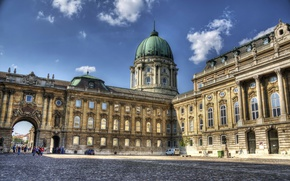 Wallpaper Architecture, Hungary, Hungary, Budapest, Budapest, Architecture, Royal Palace, Buda castle, Buda castle