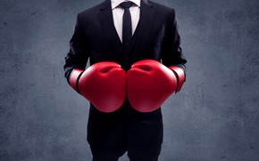 Picture fight, boxing, business, rival