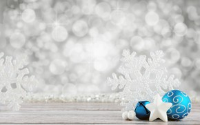 Picture decoration, holiday, balls, new year, tape, snowflake