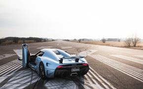 Picture Koenigsegg, supercar, hypercar, Regera