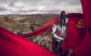 Picture nature, armor, fabric, male, cosplay