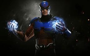 Picture high-tech, game, power, man, hero, Atom, DC Comics, pearls, powerful, uniform, super hero, technology, nanotechnology, …