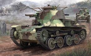Picture Type 4, Ke-Nu, Japanese light tank