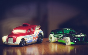 Picture macro, machine, table, cars, models