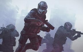 Picture Helmet, Weapons, Sniper, Crytek, Warface, Attack, Medic, Engineer, Mail.Ru Group