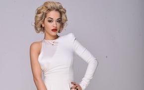 Picture look, model, blonde, singer, Rita Ora, Rita Ora
