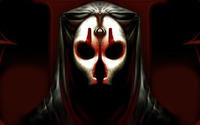 Picture the game, mask, hood, Star Wars: The Old Republic