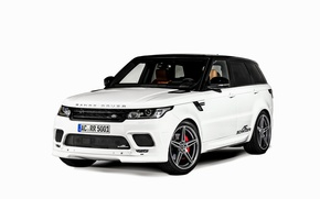 Picture white background, Land Rover, Range Rover, range Rover, land Rover