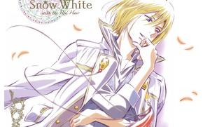 Picture pattern, petals, Prince, art, military uniform, Akagami no Shirayuki-hime, Red Haired Snow White, Sorata Akizuki, …