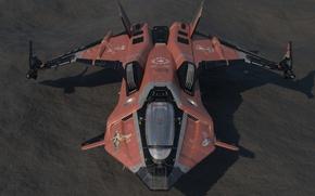 Picture starship, Star Citizen, Gladius