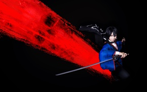 Picture background, sword, Asian