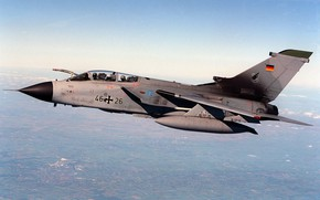 Wallpaper Panavia Tornado, jet fighter, german, hunting, military, aircraft