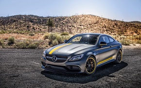 Picture coupe, Mercedes, Mercedes, AMG, Coupe, C-Class, C205