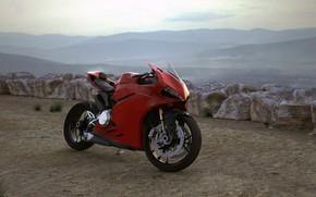 Picture motorcycle, Panigale, david baylis, Ducati 899