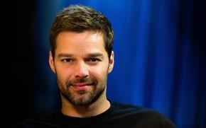 Picture men, singer, look, Ricky Martin