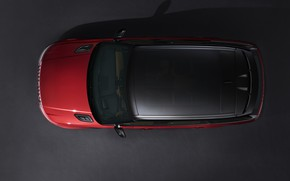 Picture roof, background, top, Land Rover, black and red, Range Rover Sport Autobiography