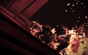 Picture fire, fire, mass effect 3, batarians, mass effect 3