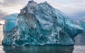 Picture sea, water, floe