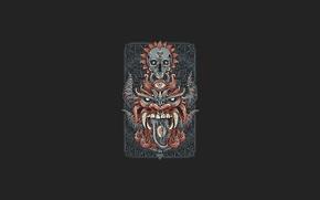 Picture Wallpaper, dragon, minimalism